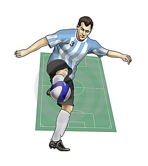 Team Argentina Royalty Free Stock Photos - Image: 14232748