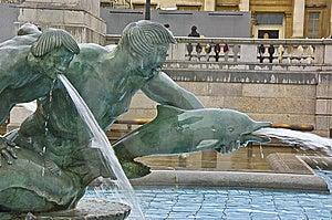 Trafalgar Square Fountain Stock Photography - Image: 14232952