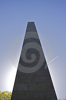 War Monument In Sunlight Stock Photography - Image: 14237812