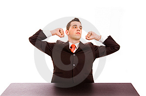 Tired Royalty Free Stock Image - Image: 14237986