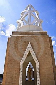 Monument Ramkhamhang Univesity In Thailand Royalty Free Stock Images - Image: 14238589