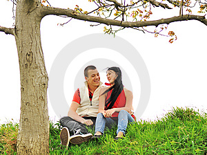 Teenagers Outdoor, Beautiful Scene Royalty Free Stock Photo - Image: 14238875