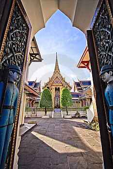 Temple Stock Image - Image: 14239321