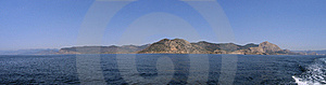 Seacost View From The Sea Stock Photos - Image: 14240913