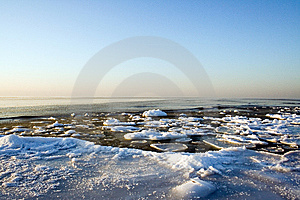 Ice On Sea Royalty Free Stock Photos - Image: 14242088