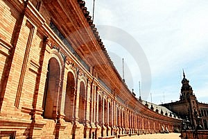 Sevilla, Plaza De Espana Square Palace. Spain Stock Photography - Image: 14244072