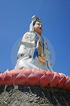 Chinese Goddess Statue Stock Photography - Image: 14244372