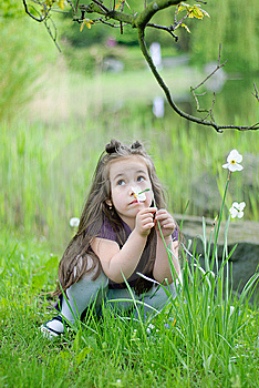 Thoughtful Girl Royalty Free Stock Photos - Image: 14244518