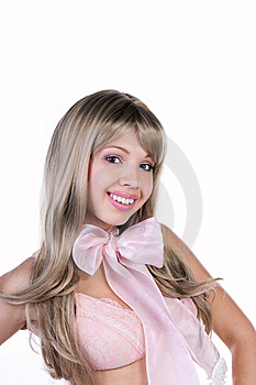 Beautiful Young Woman Portrait Stock Photo - Image: 14245030