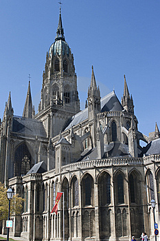 Notre Dame De Bayeux, France Stock Image - Image: 14246661