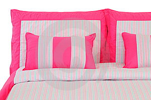 Bedding. Isolated Stock Photography - Image: 14247992