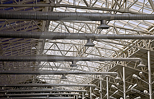 Frame Of A Metal Truss Royalty Free Stock Photo - Image: 14249085