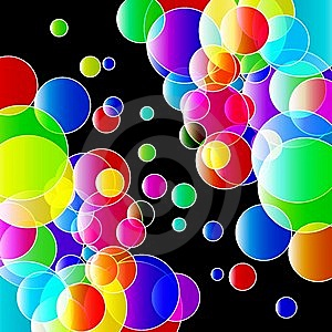 Color Lights Background. Royalty Free Stock Photography - Image: 14250757