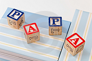 Spelling Papa Royalty Free Stock Photography - Image: 14251547