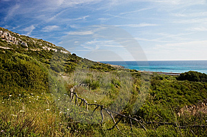 Menorcan Hillside Stock Photography - Image: 14251582