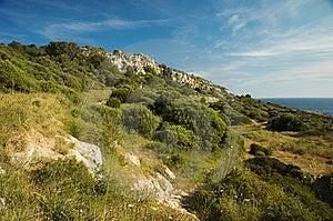 Menorcan Hillside Stock Images - Image: 14251604
