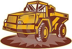 Mining Dump Truck Stock Photo - Image: 14252190