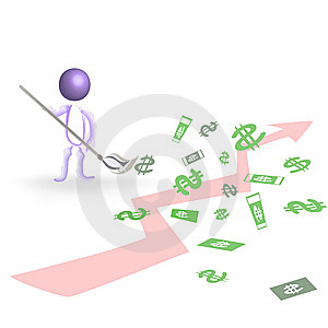 Rather Large Income Stock Photo - Image: 14252730