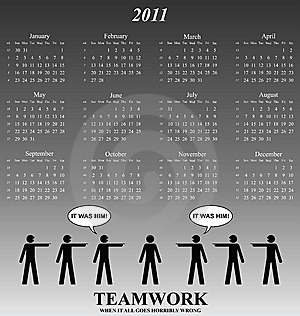 2011 Calendar Stock Photo - Image: 14252970