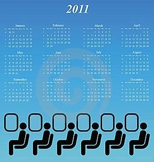 2011 Calendar Stock Image - Image: 14253351