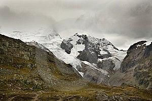 Alps And Glaciers In Switzerland Stock Photo - Image: 14257400
