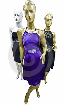 Dummy In A Fashion Shop Royalty Free Stock Image - Image: 14261596