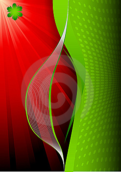 Vector Wave And Frame Royalty Free Stock Image - Image: 14261766