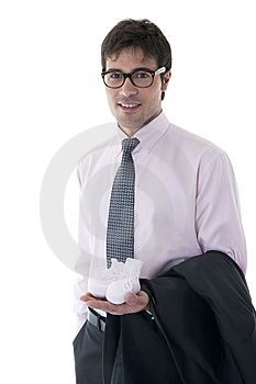 Modern Man Royalty Free Stock Image - Image: 14261866