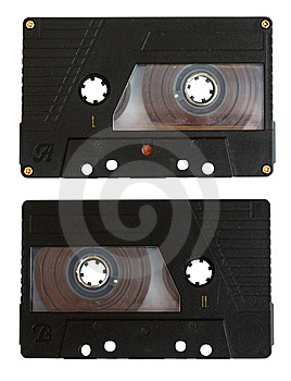 Audio Cassette Isolated Stock Images - Image: 14262234