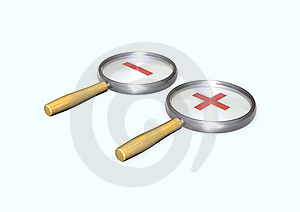 Magnifier Royalty Free Stock Photo - Image: 14262315