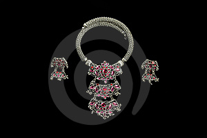 Accessories For Traditional Thai Dancer Royalty Free Stock Image - Image: 14264466
