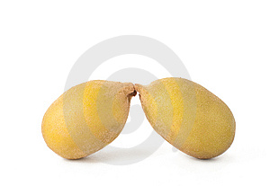 Two Golden Kiwi Fruit Stock Photography - Image: 14265422