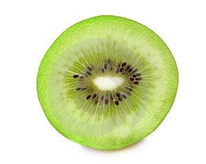 Pedazo De Fruta De Kiwi Foto de archivo libre de regalías - Imagen: 14265425