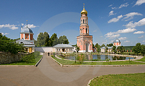 Inside Monastery Royalty Free Stock Images - Image: 14265669