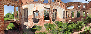 Ruined Mansion House Stock Images - Image: 14265674