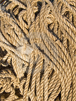 Rope On The Quayside Stock Photography - Image: 14266792