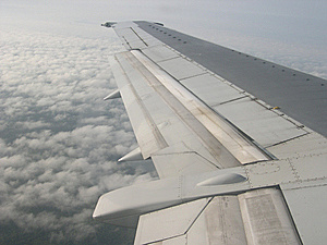 Airplane Wing Stock Photography - Image: 14267032