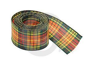 Chequered Ribbon Stock Image - Image: 14269191