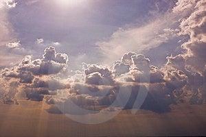 Sun rays Free Stock Photo