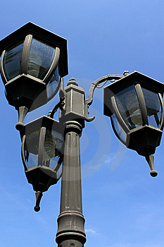 Lamp post Stock Images