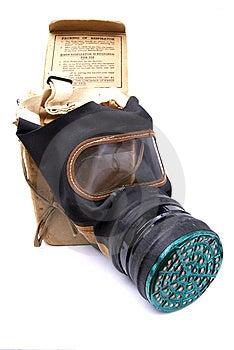 WW2 Gas Mask Royalty Free Stock Photo - Image: 14276905