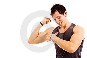 Atletic Man Stock Image - Image: 14277511