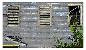 Broken Window Royalty Free Stock Photography - Image: 14278207