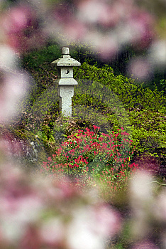 Japanese Lantern In Woods Royalty Free Stock Photography - Image: 14278667