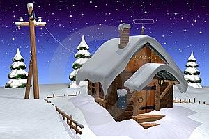 Log Cabin Stock Photography - Image: 14278892