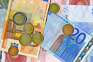 European Money Stock Photography - Image: 14279042