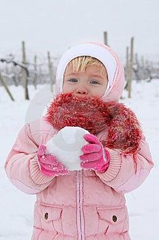 Kasta Snöboll Arkivbild - Bild: 14279622