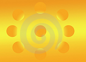 Suns On Degraded Hot Orange Royalty Free Stock Images - Image: 14280039