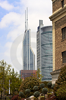 Shanghai Modern Buildings Stock Photography - Image: 14282732