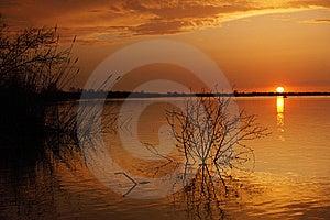 Sunset Stock Photo - Image: 14282740